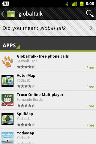 global talk for android
