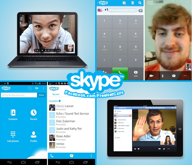 skype for computer android iphone blackberry tablets