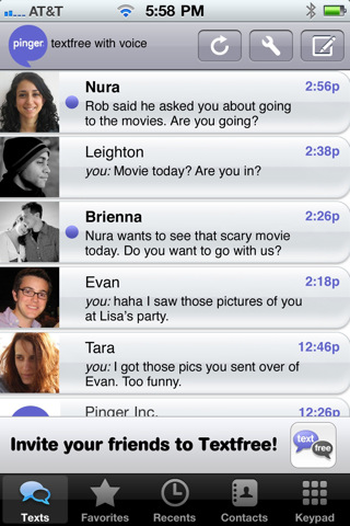 download free text app iphone